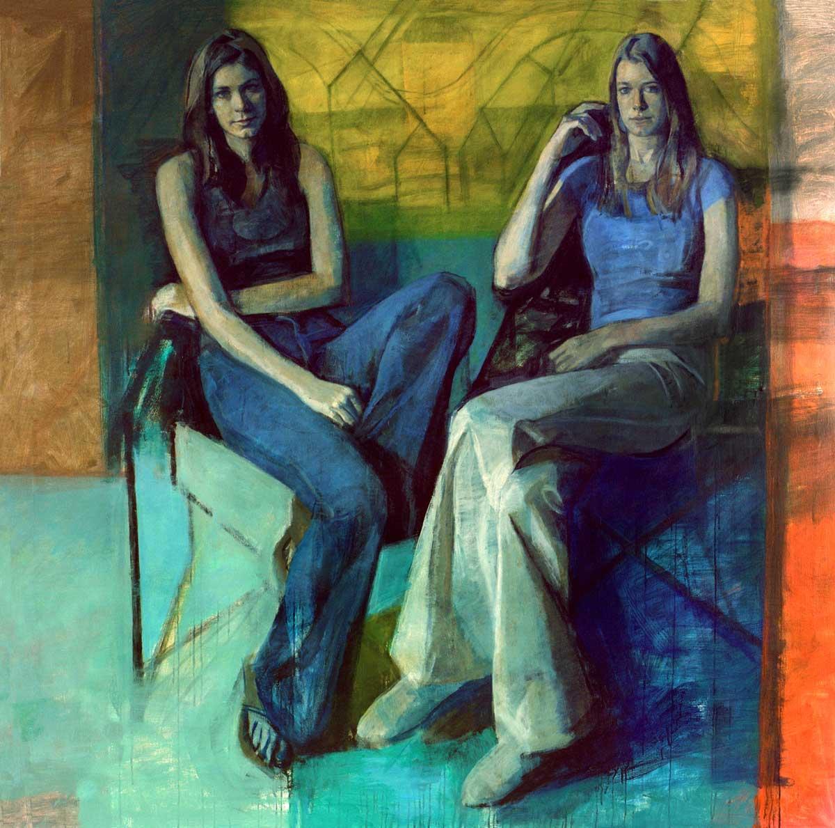 Pantaleon Retrato De Unas Mujeres